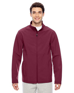 Sport Maroon Men's Leader Soft Shell Jacket