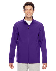 Sport Purple Men's Leader Soft Shell Jacket
