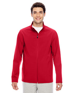Sport Red Men's Leader Soft Shell Jacket