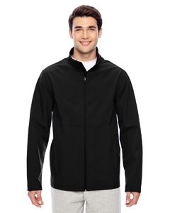 Black Men's Leader Soft Shell Jacket