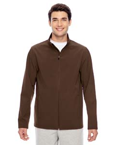 Sport Dark Brown Men's Leader Soft Shell Jacket