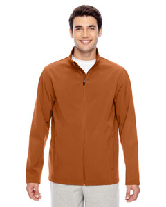 Sport Bnrt Ornge Men's Leader Soft Shell Jacket
