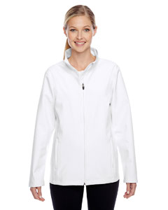 White Ladies' Leader Soft Shell Jacket