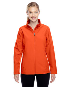 Sport Orange Ladies' Leader Soft Shell Jacket