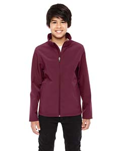 Sport Maroon Youth Leader Soft Shell Jacket