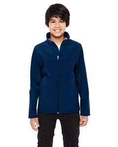 Sport Dark Navy Youth Leader Soft Shell Jacket