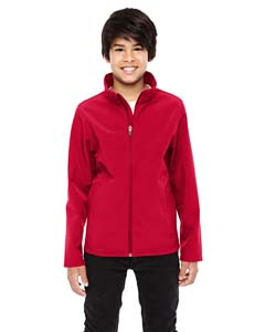 Sport Red Youth Leader Soft Shell Jacket