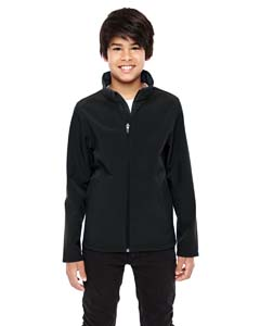 Black Youth Leader Soft Shell Jacket