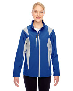 Sp Royal/sp Sil Ladies' Icon Colorblock Soft Shell Jacket