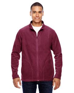 Sport Maroon Men's Campus Microfleece Jacket
