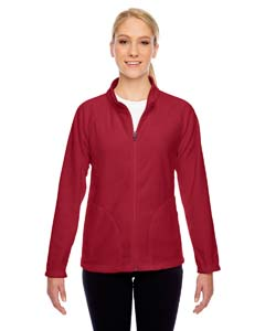 Sp Scarlet Red Ladies' Campus Microfleece Jacket