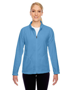 Sport Light Blue Ladies' Campus Microfleece Jacket