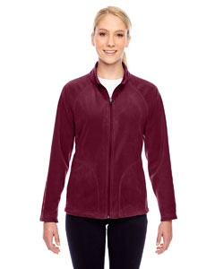 Sport Maroon Ladies' Campus Microfleece Jacket