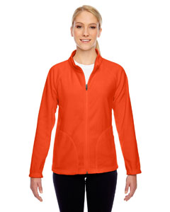 Sport Orange Ladies' Campus Microfleece Jacket