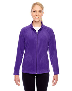 Sport Purple Ladies' Campus Microfleece Jacket