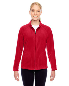 Sport Red Ladies' Campus Microfleece Jacket