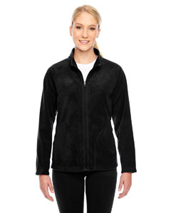 Black Ladies' Campus Microfleece Jacket