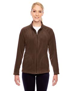 Sport Dark Brown Ladies' Campus Microfleece Jacket