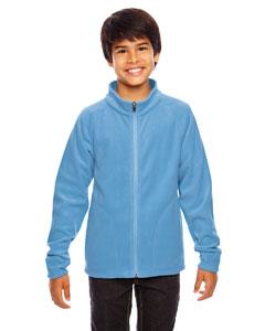 Sport Light Blue Youth Campus Microfleece Jacket