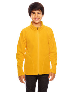 Sport Ath Gold Youth Campus Microfleece Jacket