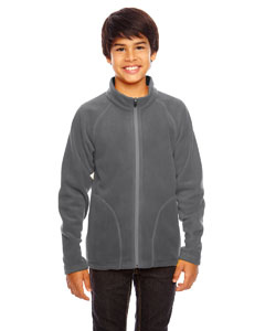 Sport Graphite Youth Campus Microfleece Jacket
