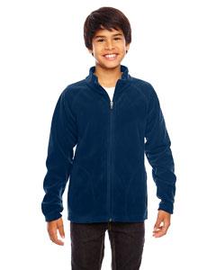 Sport Dark Navy Youth Campus Microfleece Jacket