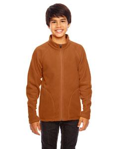 Sport Bnrt Ornge Youth Campus Microfleece Jacket