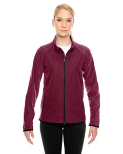 Sport Maroon Ladies' Pride Microfleece Jacket