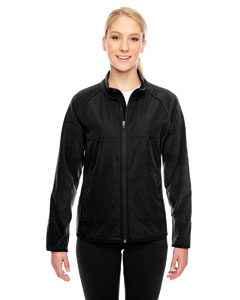 Black Ladies' Pride Microfleece Jacket