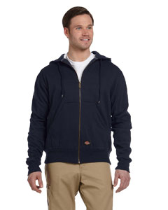 Dark Navy Thermal-Lined Fleece Jacket