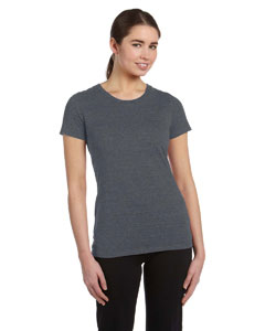 Grey Hthr Trblnd Women's Performance Triblend Short-Sleeve T-Shirt
