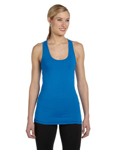 Royal/navy Women's Bamboo Racerback Tank