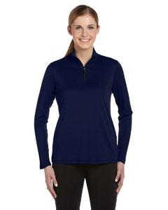 Navy Women's 1/4 Zip Lightweight Pullover