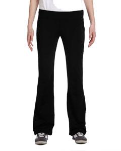 Black Women's Solid Pant
