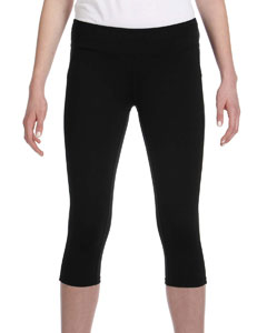 Black Women's Capri Legging