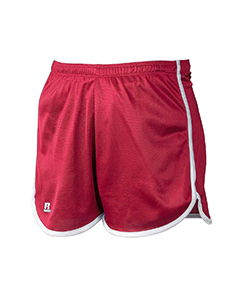True Red/white Women's' Dazzle Short