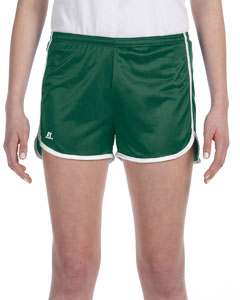 Dark Green/white Women's' Dazzle Short