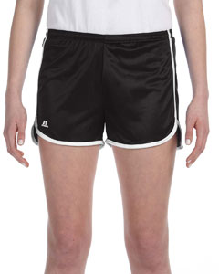 Black/white Women's' Dazzle Short