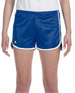 Royal/white Women's' Dazzle Short